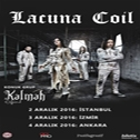 Lacuna Coil with Kalmah as a special guest